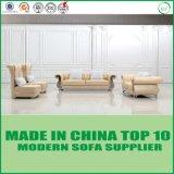 Sofà di cuoio europeo di Chesterfield della mobilia domestica del salone