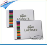 Cr80 30 mil carte en plastique blanc