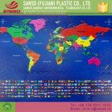 Циновка головоломки пены ЕВА пола карты мира печатание изготовленный на заказ