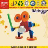 2016 giocattoli di plastica popolari superiori di puzzle del robot dei bambini di vendita calda