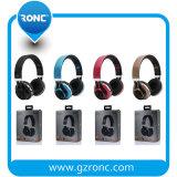 De StereoHoofdtelefoons van de Fabrikant van de fabriek met Opvouwbare Lopende Functie