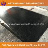 Placa bimetálica del desgaste del carburo del cromo para la fábrica de cristal