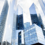 Mur rideau en verre isolant du plus défunt modèle