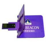 Foldable 카드 USB 접히는 명함 USB 기억 장치 지팡이