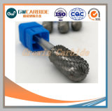 O carboneto de sólido rebarbas rotativa 1/4'' Shank para corte CNC