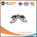 Herramienta de corte CNC de carburo cementado inserciones indexables