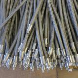 Câble tressé alambiquée flexible en acier inoxydable