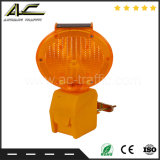 Безопасность на дороге Cylinder-Shaped Mini портативный заграждение солнечной энергии света