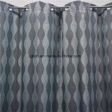 España Diseño de tira de tela en blanco y negro para cortina