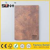 Textura de mármol de 12 mm laminado de alta presión