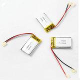 3,7 V 400mAh batterie rechargeable au lithium polymère 582035