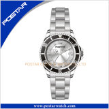Unisexa+ QualitätsEdelstahl-Armbanduhr japanisches Psd-2306