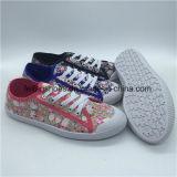 Новейшие женщин Canvas колодки ЭБУ системы впрыска повседневная обувь с дешевой цене (HP0315-1)