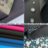 El 96% Poliéster 4% Spandex tejido chaqueta Softshell