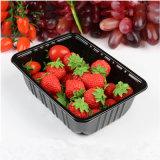 スーパーマーケットの包装のための白いPPの物質的なプラスチック冷凍食品の皿