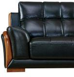 Fabrik-Preis-Großverkauf-Tasten-Leder-Sofa für Hauptmöbel (8057)