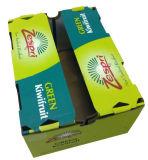 ワックスはフルーツの包装のための波形のカートンボックスを浸した