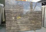 Losa de mármol de Brown del mármol de oro de la playa de la muestra libre para la escalera de la tapa de la vanidad de la encimera