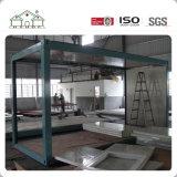 Casa prefabricada de tipo standard adaptable del envase de la estructura de acero para la venta