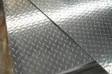 Checkered 훈장 지면을%s 치장 벽토에 의하여 돋을새김되는 보행 알루미늄 장