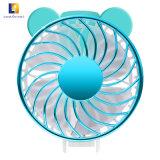 Kundenspezifische Farbe USB-mini elektrischer nachladbarer Standplatz-Ventilator für Büro