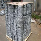 Arame farpado de ferro galvanizado para a Régua