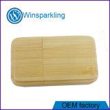 Unidade Flash USB de madeira de bambu de memória USB