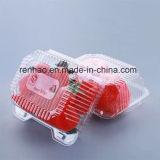 Conteneurs en plastique clairs de cadre de mémoire de nourriture avec les couvercles multi de couleur