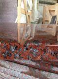 África do Sul Azulejos polido de granito vermelho&Brames&Bancada