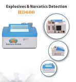 Rivelatore della bomba del rivelatore HD600 della traccia degli esplosivi/rivelatore degli esplosivi per uso aeroporto/della polizia