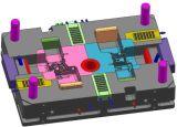 Dmeはアルミニウム部58のための10枚のスライドが付いている鋳造物型を停止する: )