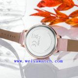 Kundenspezifische Namensuhr-Legierungs-Geschäfts-Armbanduhren (WY-17027A)