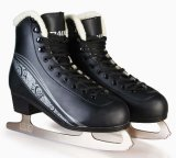 Chaussures de patin de glace de qualité pour l'adulte