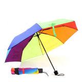새로운 디자인 형식 선전용 접히는 골프 똑바른 우산