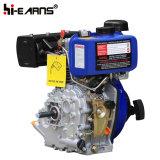 Dieselmotor met de Filter van de Lucht van het Bad van de Olie van de Schacht van de Spiebaan (HR170F)