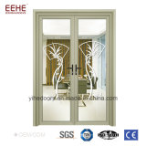 Portello di comitato di alluminio dei portelli popolari della finestra di alluminio della Cina