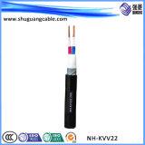 주석으로 입힌 Cu/Fluoro Plastics/PVC 칼집 또는 스크린 또는 방연제 또는 고압선