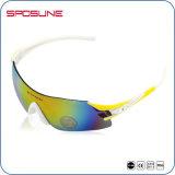 La mode Anti-Rayent les lunettes de recyclage de sports des lunettes de soleil UV400 de sport de la CE En166 pour la bicyclette