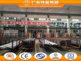 Beste Verkopend Europees Stijl Overspannen die Venster in Fabriek Foshan wordt gemaakt