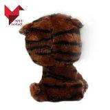 Tigre d'animal de yeux de jouet de peluche d'OEM d'usine grand