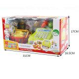 Schauspielhaus-kleine Kind-Plastikregistrierkasse-pädagogisches Spielzeug