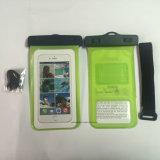 Bloco subaquático da água do PVC do telefone de pilha do esporte do fechamento durável (JP-WB002)