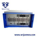 De Alta Potencia ajustable CDMA GSM 3G 4G WiFi personalizar la señal de frecuencia VHF UHF Jammer