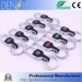Logotipo do carro cromado Keychains Metal Key Ring para BMW 3