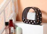 Bolso cosmético del artículo de tocador de la belleza del bolso del PVC del maquillaje de las mujeres del recorrido transparente impermeable de las mujeres