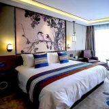 Крышка одеяла кровати гостиницы установила для постельного белья гостиницы