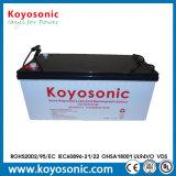 12V Batterij de met lange levensuur van het 200ahGel voor het Systeem van de ZonneMacht