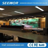 Die Casting aluminium SMD2121 P4.81mm Indoor LED fixe Billboard