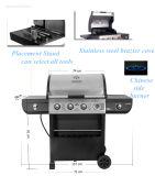Nuevo diseño de la estufa de gas cómoda Barbacoa barbacoa al aire libre microondas