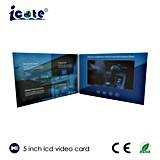 최신 판매를 위한 5inch IPS/HD LCD 스크린 영상 브로셔